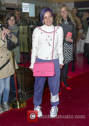Lily Allen - The Spoils Press Night at Trafalgar Studios, Whitehall, London at Trafalgar Studios, Whitehall - London, United Kingdom...