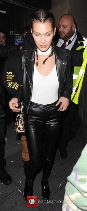 Bella Hadid, The Weeknd , Abęl Makkonen Tesfaye - Bella Hadid and her boyfriend Abel Makkonen Tesfaye aka The Weeknd,...
