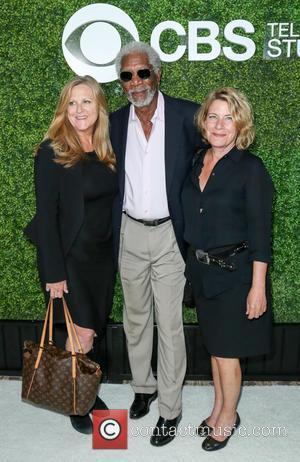 Lori Mccreary, Morgan Freeman and Barbara Hall