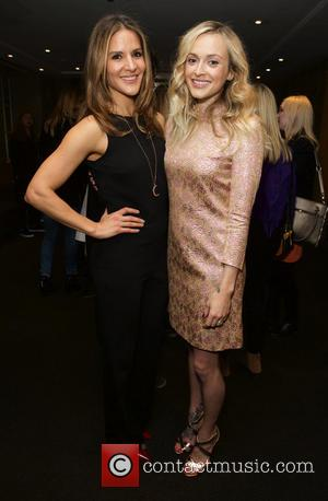 Amanda Byram and Fearne Cotton