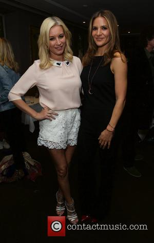 Denise Van Outen and Fearne Cotton