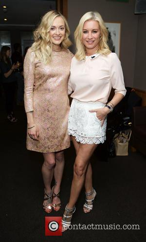 Fearne Cotton and Denise Van Outen