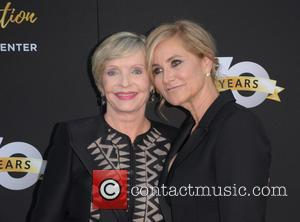 Florence Henderson and Maureen Mccormick