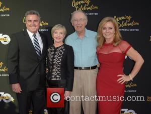 Christopher Knight, Florence Henderson, Bernie Kopell and Jill Whelan