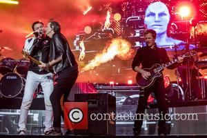Duran Duran - Duran Duran perform at BBC Music Day 2016 at the Eden Project in Cornwall - Cornwall, United...