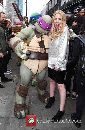 Teenage Mutant Ninja Turtles and Naomi Isted