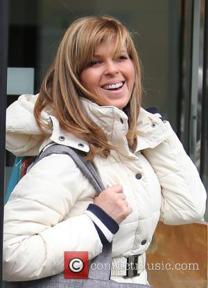 Kate Garraway - Kate Garraway outside ITV Studios - London, United Kingdom - Friday 3rd June 2016