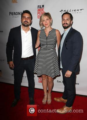 Daniel Posada, Samantha Castellano and Jason Tamasco at Arclight Cinemas and Los Angeles Film Festival