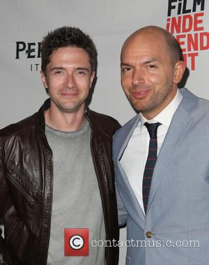 Topher Grace and Paul Scheer