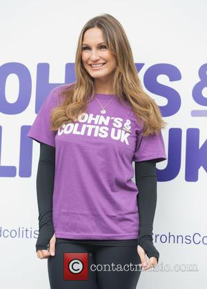 Sam Faiers - Sam Faiers and Billie Faiers launch WALK IT London for Crohn's & Colitis UK at the Embankment...