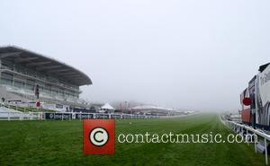 Atmosphere at Epsom Downs Racecourse