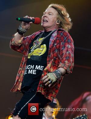 Axl Rose Considering New Guns N' Roses Music And Memoir