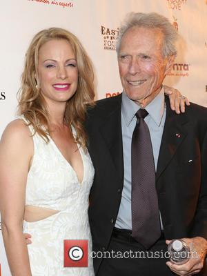 Alison Eastwood and Clint Eastwood