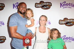 Hank Baskett, Kendra Wilkinson and Alijah Mary Baskett