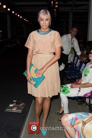 Amber Le Bon - Istituto Marangoni's graduate fashion week show held at the Truman Brewery. - London, United Kingdom -...