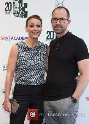 Suranne Jones and Laurence Akers