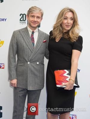 Martin Freeman and Tracy Anne Oberman