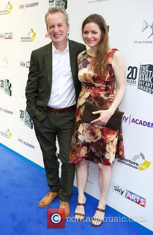 Frank Skinner and Cath Mason