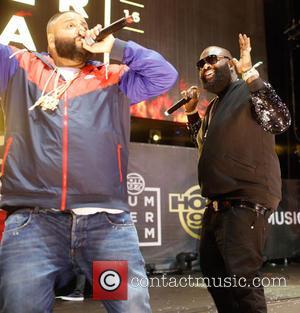 DJ Khaled , Rick Ross - HOT 97 Summer Jam Concert held at the Metlife Stadium - Performances at Metlife...