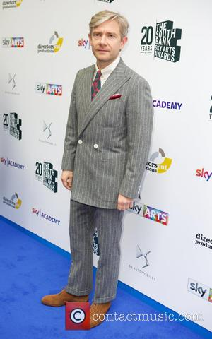 Martin Freeman - The Southbank Sky Arts Awards 2016 - Arrivals at The Savoy Hotel - London, United Kingdom -...