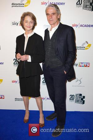 Charlotte Rampling and Jeremy Irons