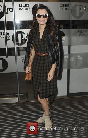 Samantha Barks at Radio One