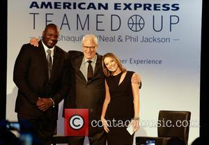 Shaquille O'Neal, Phil Jackson , Hannah Storm - American Express Teamed Up with Shaquille O'Neal and Phil Jackson held at...
