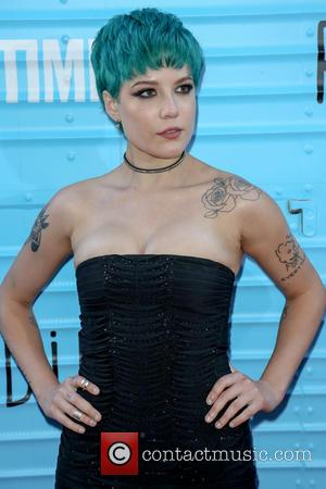 Halsey - Premiere of Showtime's 'Roadies' - Arrivals at The Theatre at Ace Hotel - Los Angeles, California, United States...