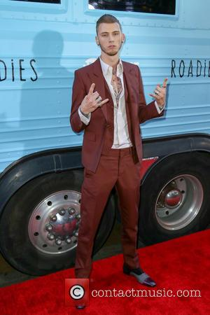 Machine Gun Kelly - Premiere of Showtime's 'Roadies' - Arrivals at The Theatre at Ace Hotel - Los Angeles, California,...