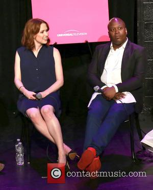 Ellie Kemper and Tituss Burgess