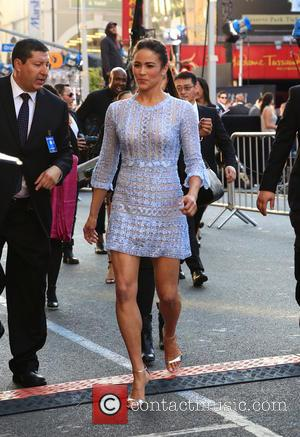 Paula Patton - Premiere of 'Warcraft' held at the TCL Chinese Theatre - Outside Arrivals at Hollywood Blvd - Los...