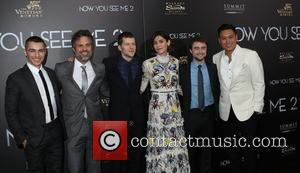 Dave Franco, Mark Ruffalo, Jesse Eisenberg, Lizzy Caplan, Daniel Radcliffe and Jon M. Chu