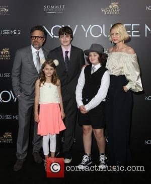 Mark Ruffalo and Family