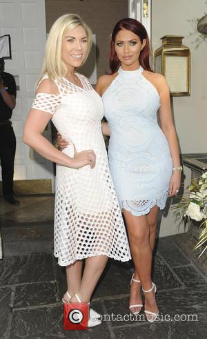 Frankie Essex and Amy Childs