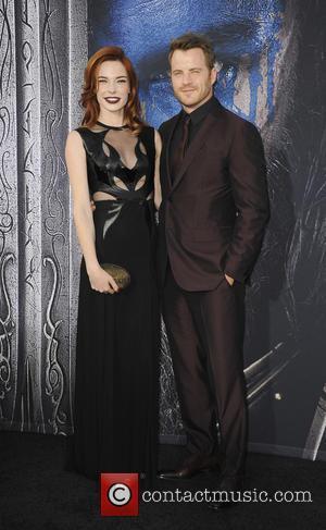 Chloe Dykstra and Rob Kazinsky
