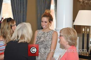 Stacey Solomon and Anna Williamson