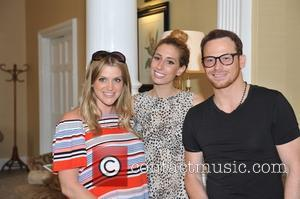 Stacey Solomon, Joe Swash and Anna Williamson