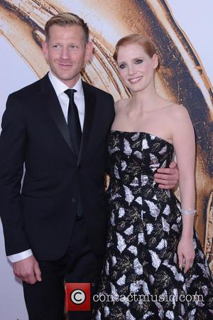 Paul Andrew and Jessica Chastain