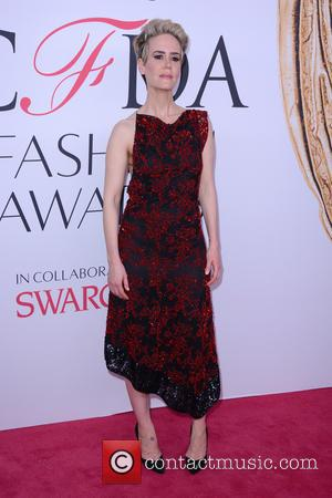 Sarah Paulson - 2016 CFDA Fashion Awards - Red Carpet Arrivals - New York, New York, United States - Tuesday...
