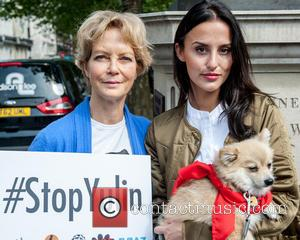 Jenny Seagrove and Lucy Watson