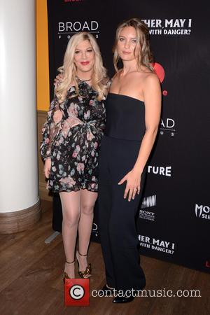 Tori Spelling and Leila George