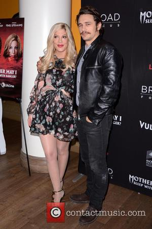Tori Spelling Vomited On Set With James Franco