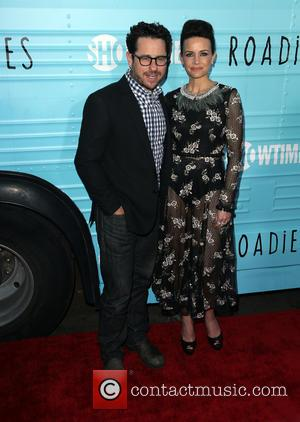 Carla Gugino and J.j. Abrams
