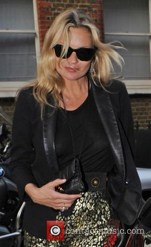 Kate Moss - Kate Moss leaving the Bella Freud store - London, United Kingdom - Wednesday 8th June 2016