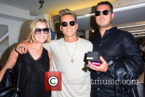Jennie Harris, Oliver Proudlock and Guest