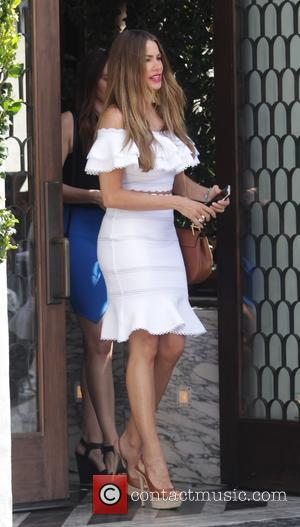 Sofia Vergara - Sofia Vergara leaves Cecconi's restaurant after having lunch with friends in Studio City - Studio City, California,...