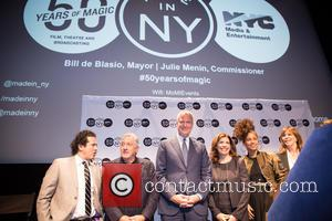 Robert De Niro, Bill De Blasio, Alicia Keys, John Leguizamo and Jane Rosenthal