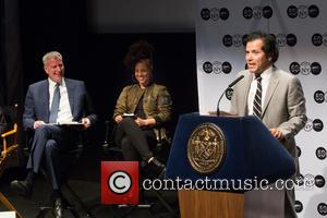 Bill De Blasio, Alicia Keys and John Leguizamo