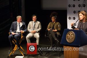 Bill De Blasio, Alicia Keys, John Leguizamo and Julie Menin