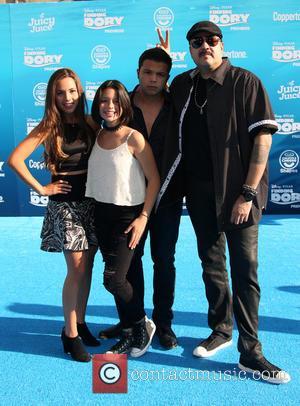 Pepe Aguilar, Angela Aguilar, Emiliano Aguilar and Aneliz Aguilar